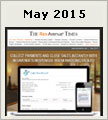 Newsletter for May 2015